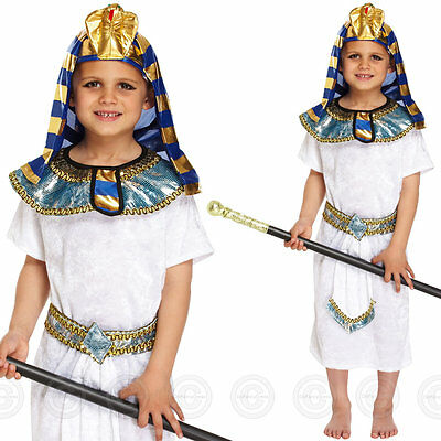 Boys Egyptian Pharaoh Fancy Dress Costume Egypt Childs Historic Kids Outfit New  sc 1 st  PicClick UK : pharaoh costume boy  - Germanpascual.Com
