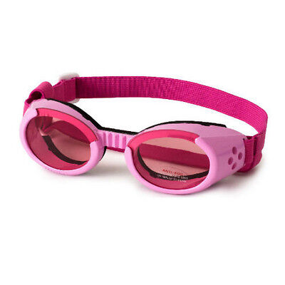 Hundesonnenbrille Hunde Brille Doggles ILS 'Shiny' pink S-M-L