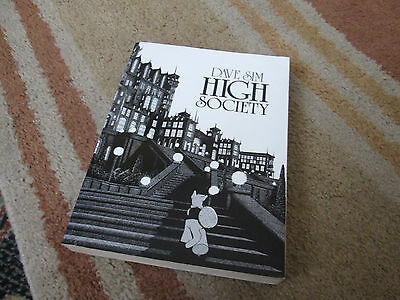 Dave Sim CEREBUS Book 2 : HIGH SOCIETY - Graphic Novel .. 500+ pages