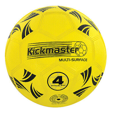 Kickmaster All Surface Size 4 Football NEW