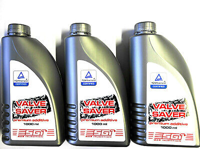 (EUR 9,50/L) 3 x LPG Autogas Valve Saver Premium-Additiv 1000ml