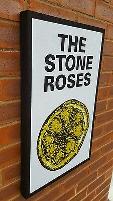 Stone Roses - wall canvas