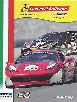 2014 Ferrari Challenge Weekend Program from Laguna Seca