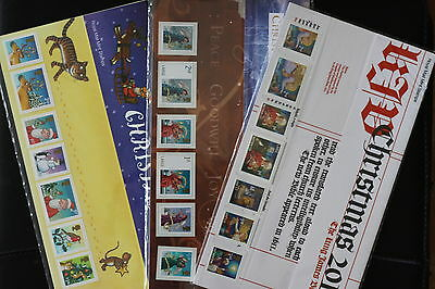 GB Christmas Presentation Packs x 3 - Mint Stamps Lot 2