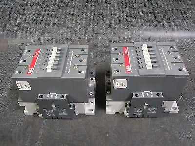 (1) Abb Contactor 140 Amp / 600 V / 3 Phase With 200-220V Coil  Model: A130-30
