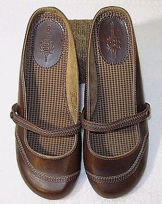 Women's Shoes Brown Size 9 Route 66 Mary Jane Size 9 Mules Flats