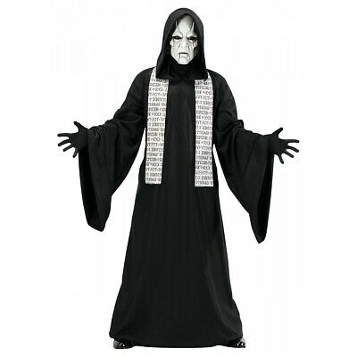 Evil Priest Costume Adult Scary Halloween Fancy Dress