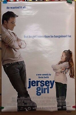 Jersey Girl Ben Affleck Original Movie Theater Advance Poster- 2 Sided 27 X 40