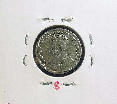 1918 Canada Ten Cent George V Sterling Silver Dime