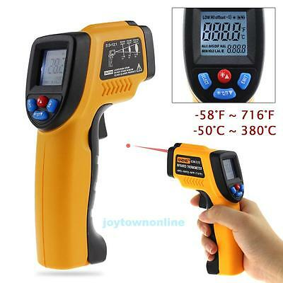 Non-contact Infrared IR Laser Digital Thermometer Temperature Gun -50 ~ 380℃ New