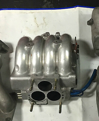 Mazda rx7 turbo upper intake manifold polished