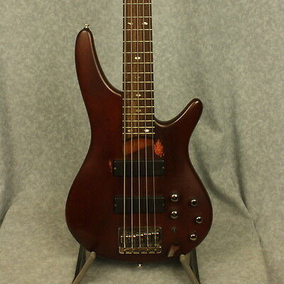 Ibanez SR505 BM 5-String Electric Bass in Brown Mahogany