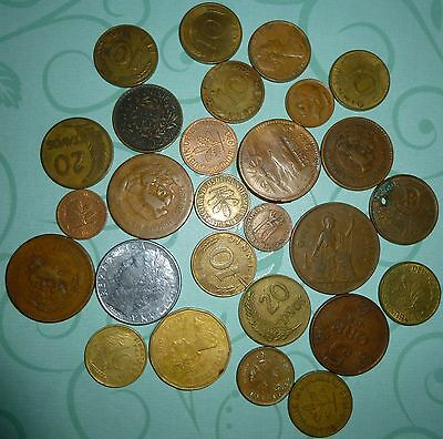 Vintage World Assorted Coin Lot