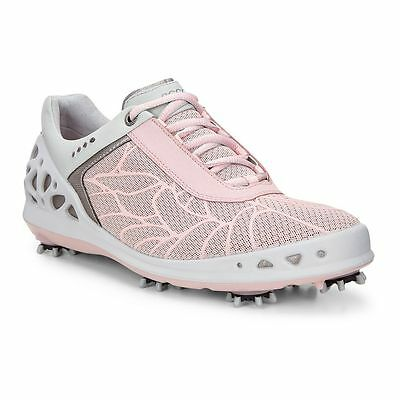 New In Box Ecco Ladies Cage Golf Shoes Pink