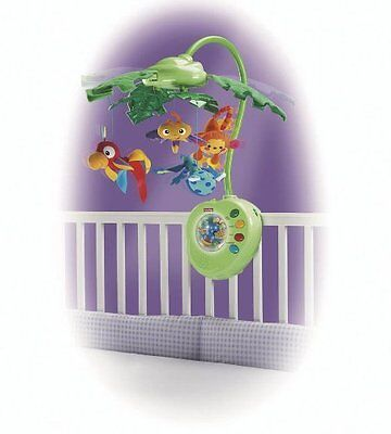 Fisher Price - Rainforest - Peek-A-Boo Leaves Musical Mobile  - 0 + Years