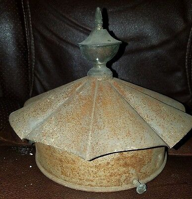 Antique Metal Architectural Finial