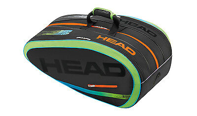 Brand New Head Radical MP LTD 12 Racquet MonsterCombi Tennis Racquet Bag RARE