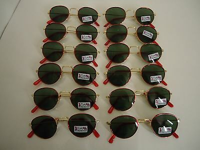 12 Pair of Quality FASHION SUNGLASSES for CHILDREN new 100% UV PROTECTION lot