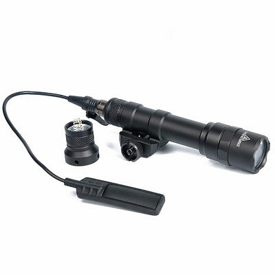 M600B Scout Light LED WeaponLight with Remote Pressure Switch Controller (BK/DE)