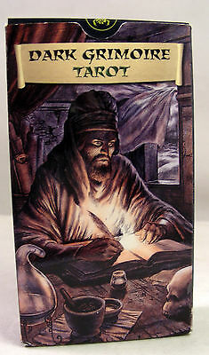 Dark Grimoire Tarot Lo Scarabeo Made in Italy Lovecraft Cthulhu Mint Condition
