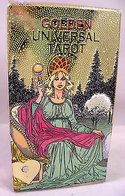 Golden Universal Tarot Deck Cards Lo Scarabeo Made in Italy Mint Condition