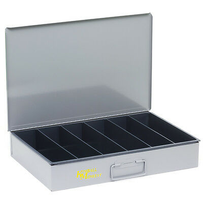 Durham 117-95-D925  Steel Parts Storage Drawer, Large, 6-vertical compartments
