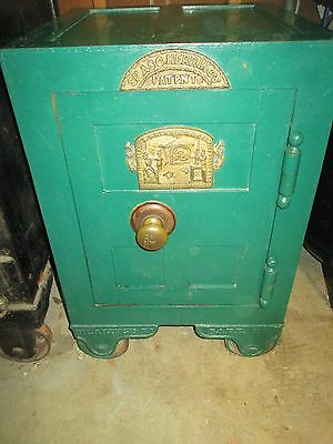 S.C Herring & Co. Fire Proof safe antique safes