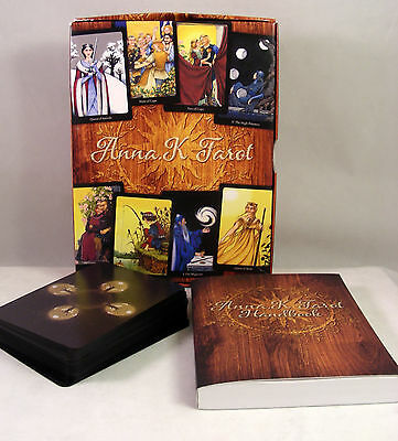 Anna K Tarot Deck Cards by Llewellyn Publishing with Companion Book Mint