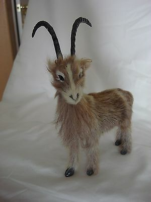 Icelandic Goat Figurine Real Apperance Collectible