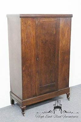 "Antique TAYLOR BILT 39"" Walnut Wardrobe"