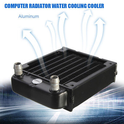 Aluminum 80mm computer radiator water cooling cooler for CPU heatsink PC NEW