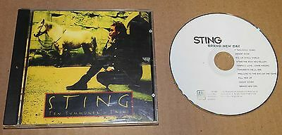 CD LOT 2 Sting Ten Summoner Tales & Brand New Day