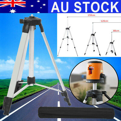 AU 1.5M Aluminum Tripod Adjustable Stand For Laser Level Measure Dumpy Levelling