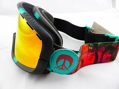 Electric EGB2 Snow Goggles Gnarly - Bronze/Red Chrome + Yellow Lens