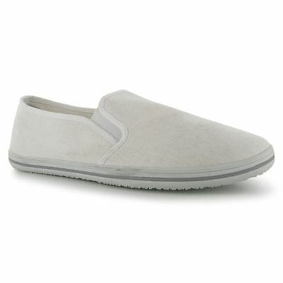 Slazenger Slip On Canvas Tai-Chi / Kung Fu Shoes - White
