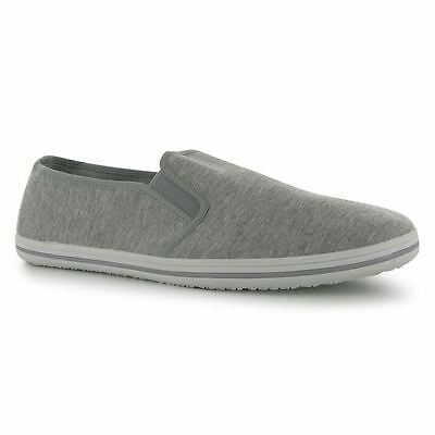 Slazenger Slip On Canvas Tai-Chi / Kung Fu Shoes - Grey Marl