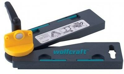 Wolfcraft Angular Bevel Gauge With Automatic Angle Bisector Stop Try BRAND NEW