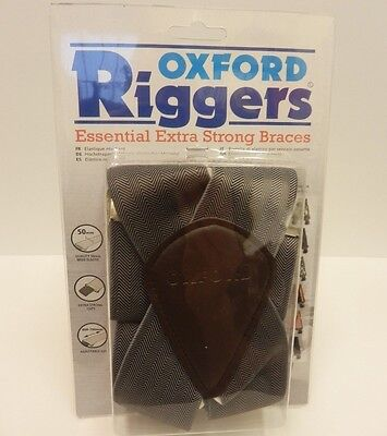 Oxford Riggers Essential Extra Strong Herringbone Motorcycle Braces