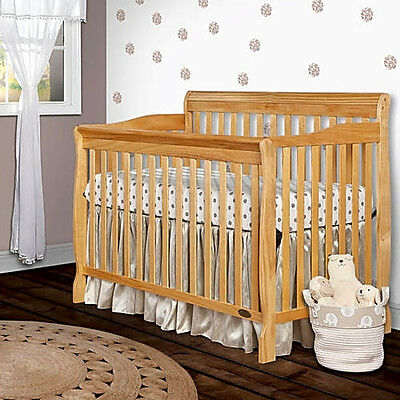 Dream On Me Ashton Convertible 5-in-1 Crib, Natural