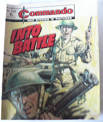 Commando War Stories In Pictures Issue 1238 Into Battle