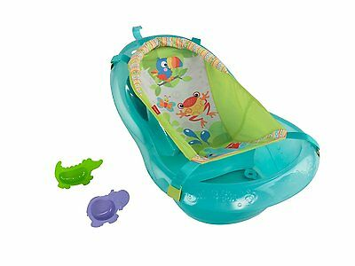 Brand New Fisher Price Baby/toddler Bath Tub, Rainforest Friends