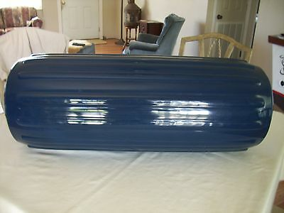 NEW Taylor Made  Big B Inflatablel Boat Fender w/ Center Rope Tube 34 X 12 NAVY