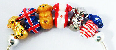 Wade Gingie-Nation Porcelain Charms - Gingie Bear