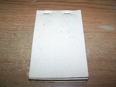 1970's Siffords Dx Service Station Pocahontas, Arkansas Receipt Book