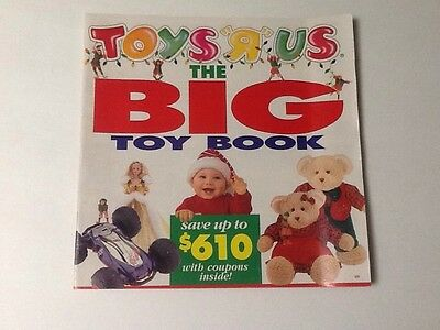 """Toys R Us  """"The BIG Toy Book 1994 (84 Pages)  Pre Christmas RARE"""
