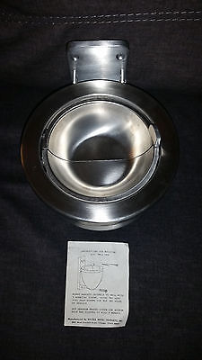 Wall Mounted Ash Urn Ex-Cell Kaiser 620 Stainless Steel,Wall Mounted Ashtray