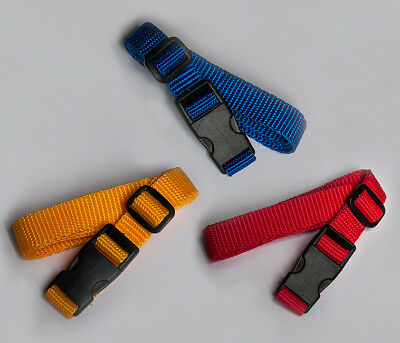 Compression Strap 2x40, 70, 100 cm RED, BLUE, YELLOW Quick Release Buckle 15mm