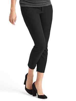 New Gap Maternity Bi-Stretch Full PANEL ultra skinny Size 10  Black 696168