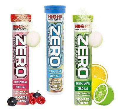 High5 Zero Tabs Hydration Electrolyte Sports Drink x40 Tablets 2 Tubes