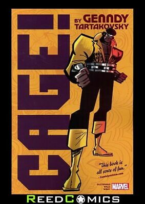 CAGE GRAPHIC NOVEL New Paperback Collects CAGE (2016 SERIES) #1-4